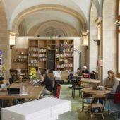 Ein Büro für unterwegs: Der Coworking Space BrainGym von Swisscom in Bern.