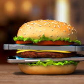 «Einmal Smartphone, dazu Hamburger mit Pommes, bitte»