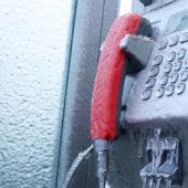 Chère cabine téléphonique