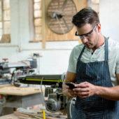 Avec ces applis, vous utilisez le smartphone comme un bureau lorsque vous êtes en déplacement ou à l'atelier.