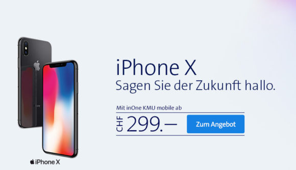 iPhone X - jetzt bestellen