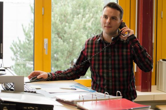 Bendicht Leuenberger, responsable du service interne de Fermacell.