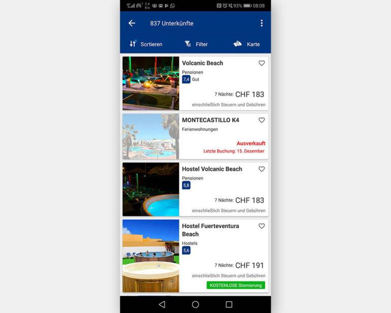 Booking.com: Reisen und Unterkünfte buchen
