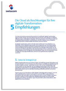 Studie: Empfehlungen zur Cloud