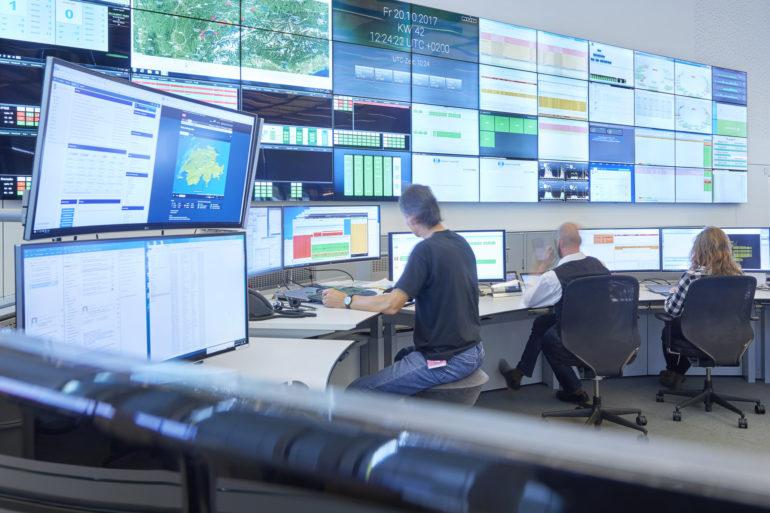Ein permanentes Monitoring sorgt für Verfügbarkeit.