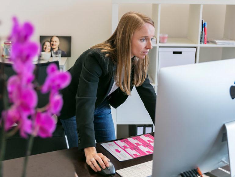 Martina Aichhorn, entrepreneuse à temps partiel