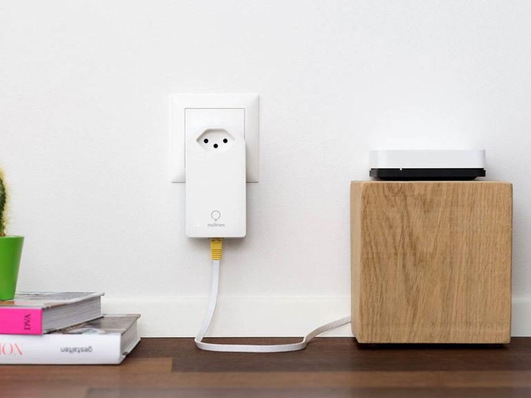 Powerline: Lan übers Stromnetz.