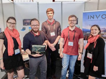 Competing in the StartUp Challenge paid off for the Involi team.