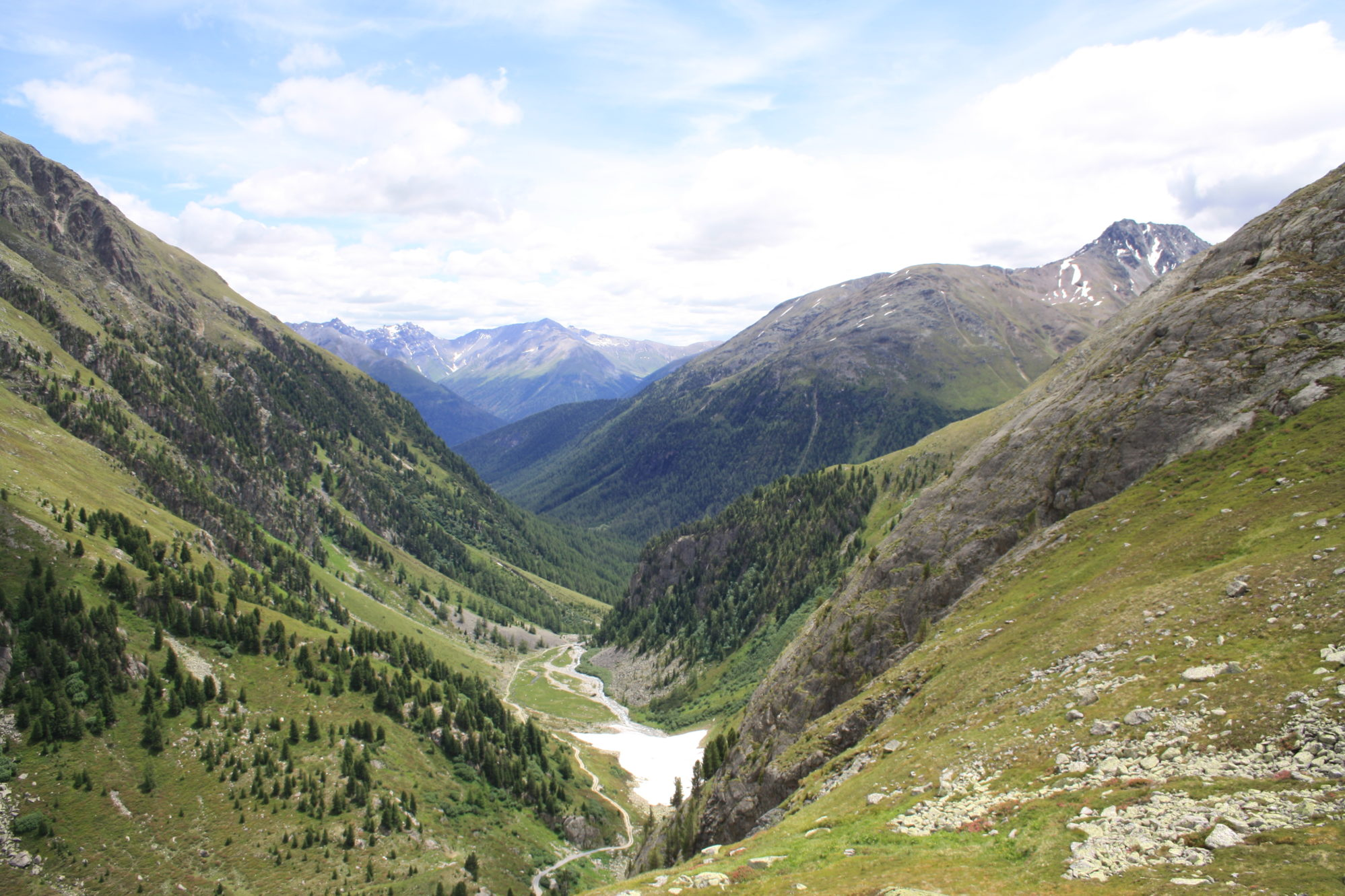 Sicht auf Alp Funtauna
