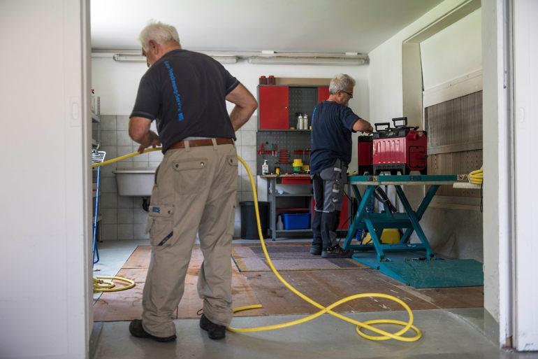 Cables verlegt Glasfaser für schnelles Internet in Balsthal