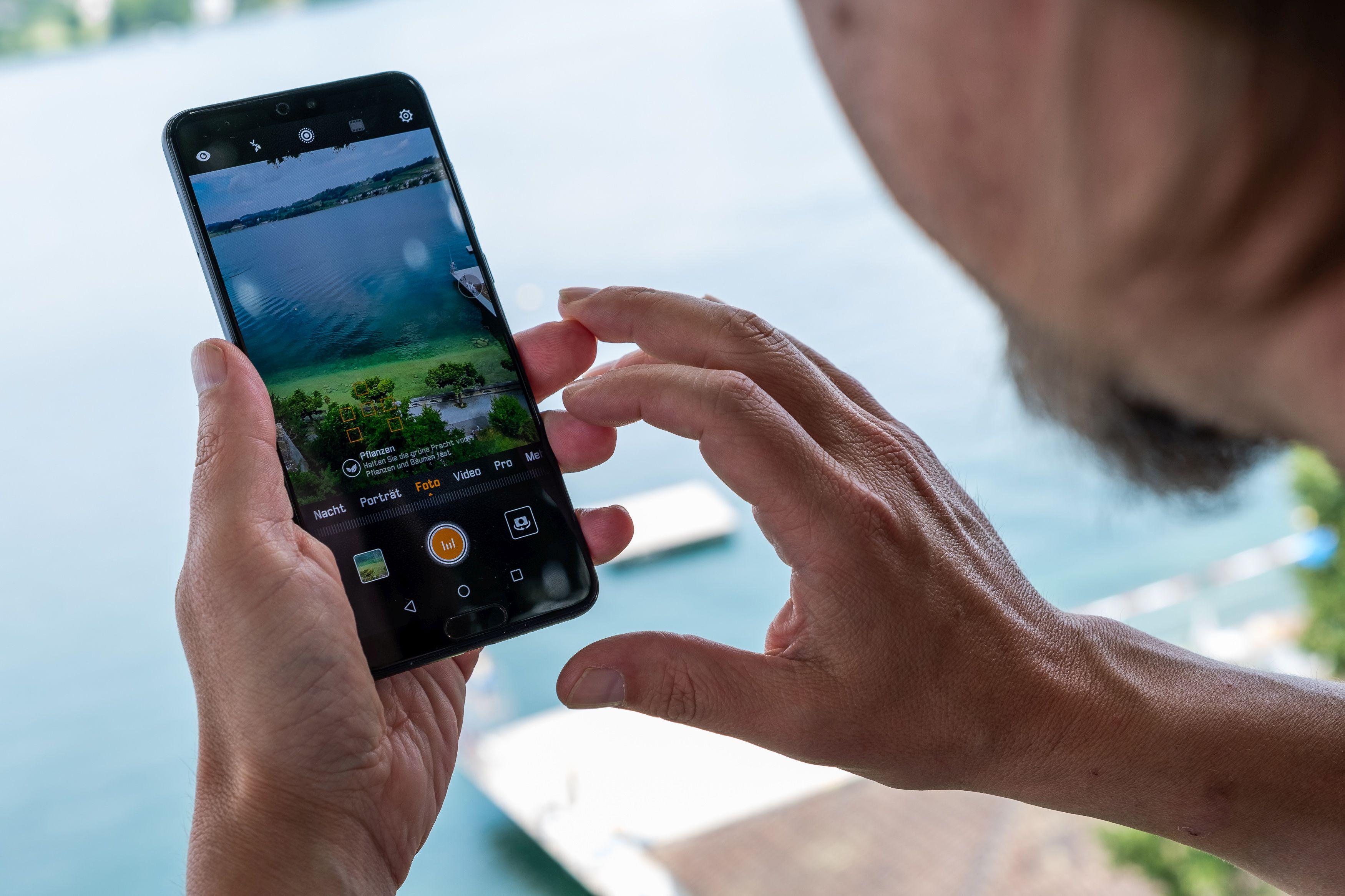 Smartphone-Fotografie mit AI