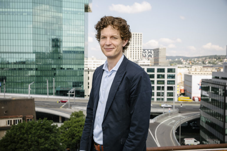 Stefan Metzger, Head of Smart City di Swisscom.