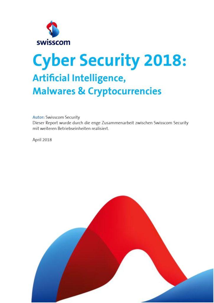 Report: Internet-Sicherheit und Bedrohungslage in der Schweiz 2018