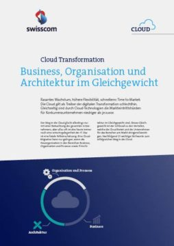 Whitepaper: So bleiben Geschäftsbereiche bei der Cloud-Transformation im Gleichgewicht