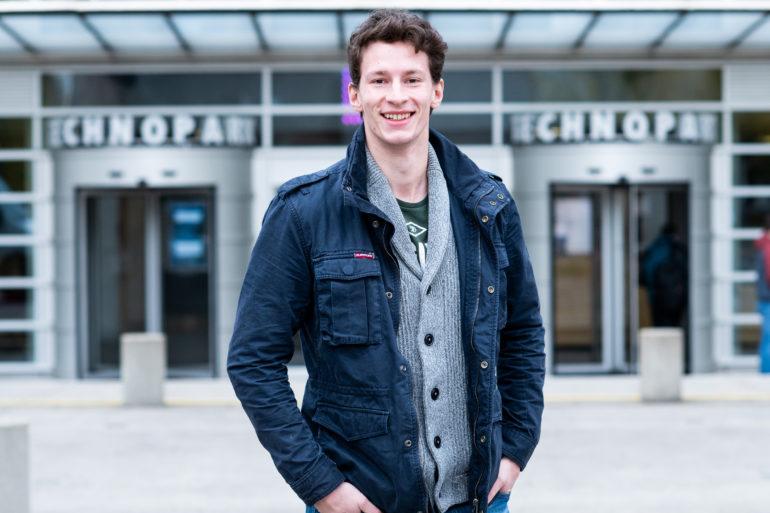 Max Eichenberger, HackZurich participant