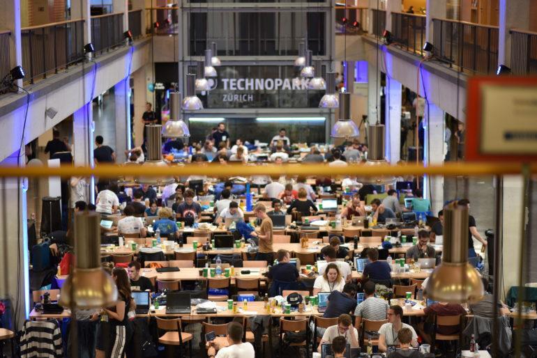 HackZurich Technopark: grösster Hackathon Europas