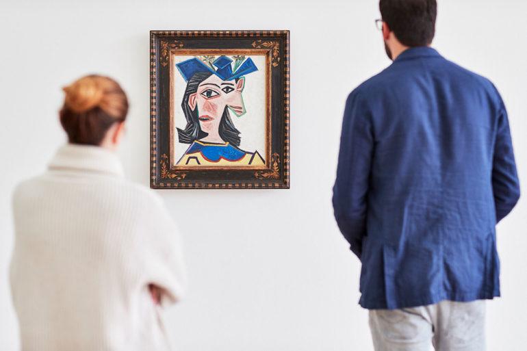 Il dipinto Dora alle Fondation Beyeler