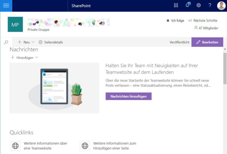 SharePoint simplifies online collaboration.