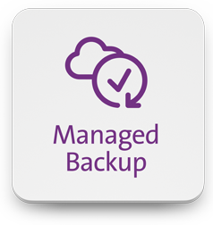 Managed backup from the cloud