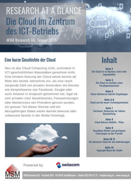 Download MSM-Studie Cloud in der Schweiz