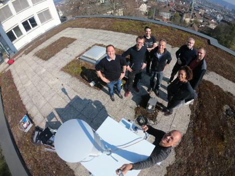 Das Projektteam von Ally Science.