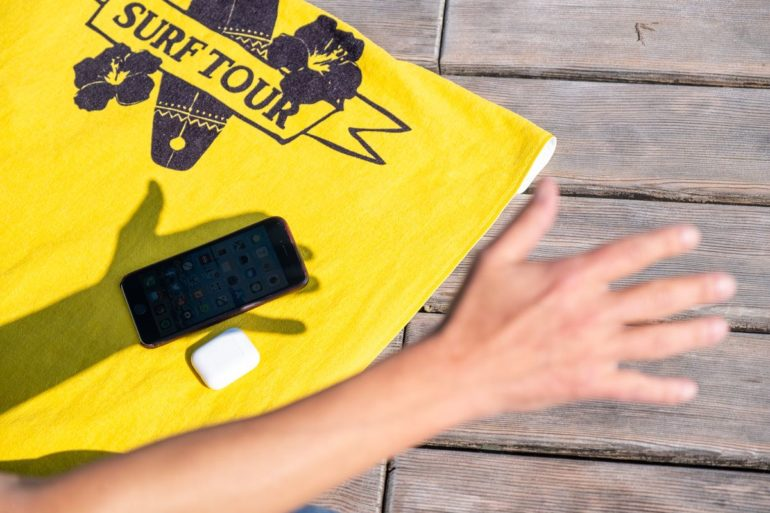 Smartphone vor Sonne schützen