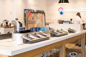 Faites l'expérience des appareils SmartHome dans le SwisscomShop