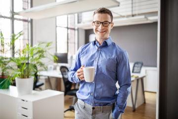 Der Kaffeetrinker: Nutzen von Data Driven Business für Kunden