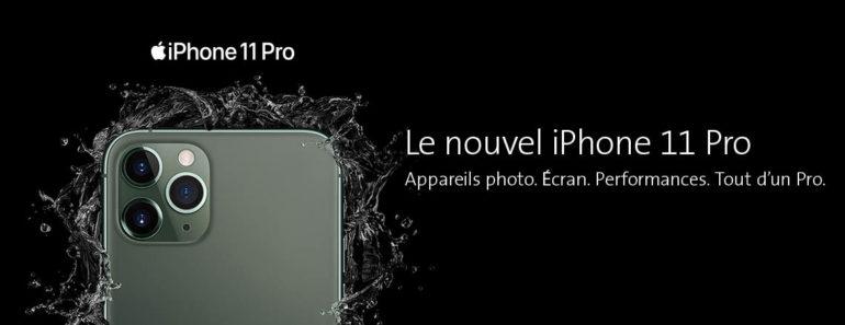 iPhone 11: pré-commander chez Swisscom