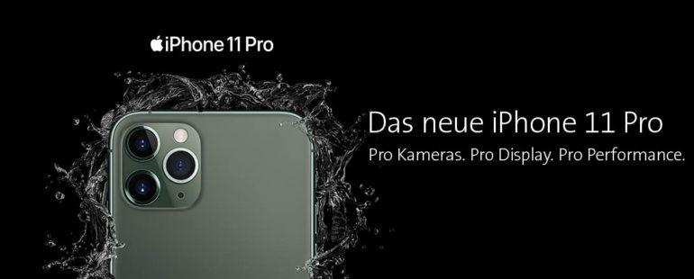 iPhone 11 ab. 13.9. bestellen