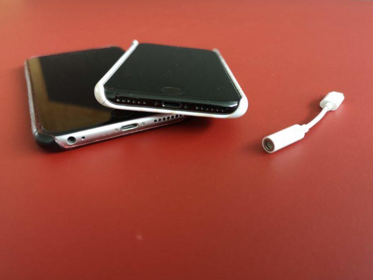 iPhone 7 senza presa per le cuffie