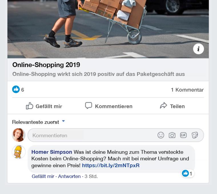 Facebook-Gewinnspiel: Phishing oder nicht?