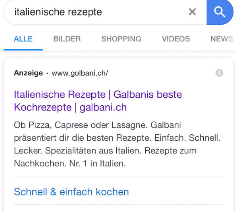 Golbani-Werbung: Phishing oder nicht?