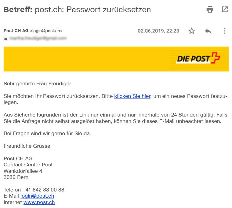 E-Mail: Phishing erkennen