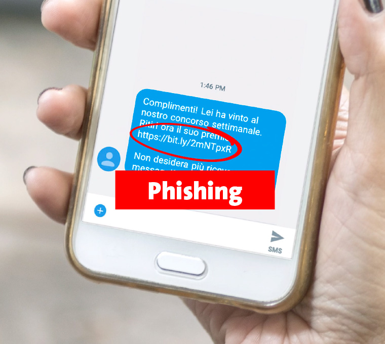 Phishing SMS