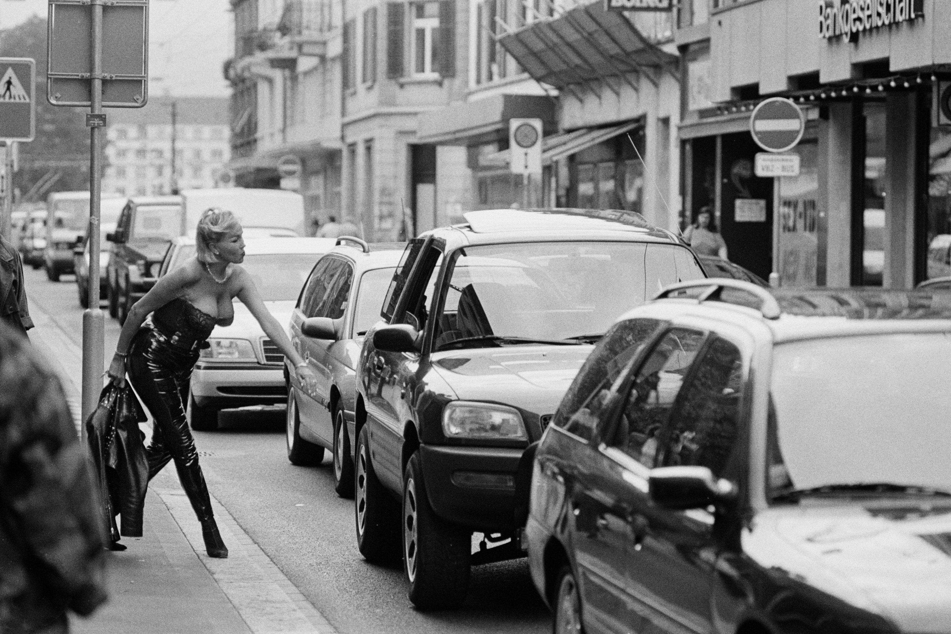 """Lulu aus dem Fotobuch """"Mensch Langstrasse"""" von Ursula Markus."""