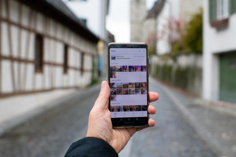 myCloud: Automatisch Alben aus Fotos erstellen