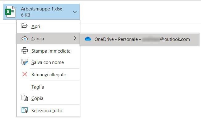 Outlook file link