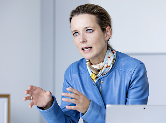 Barbara Josef, 5to9, specialista delle forme di lavoro moderno e di home office.