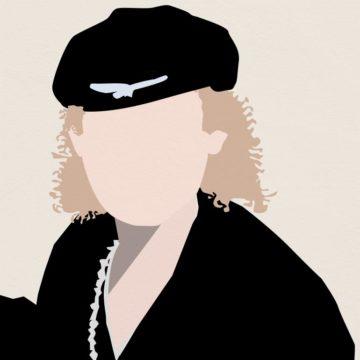 Illustration représentant Klaus Meine, le chanteur de Scorpions