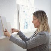 Inga Hintz in ihrem Atelier