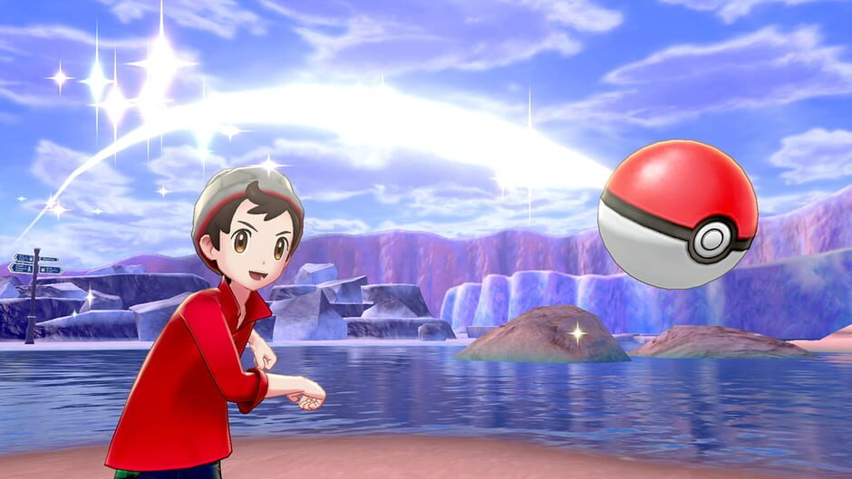 Pokémon Sword & Shield (Switch): this latest spin-off in Nintendo's cute role-playing game series can also be played one-handed with a Joy-Con controller. Picture: Nintendo / Game Freak