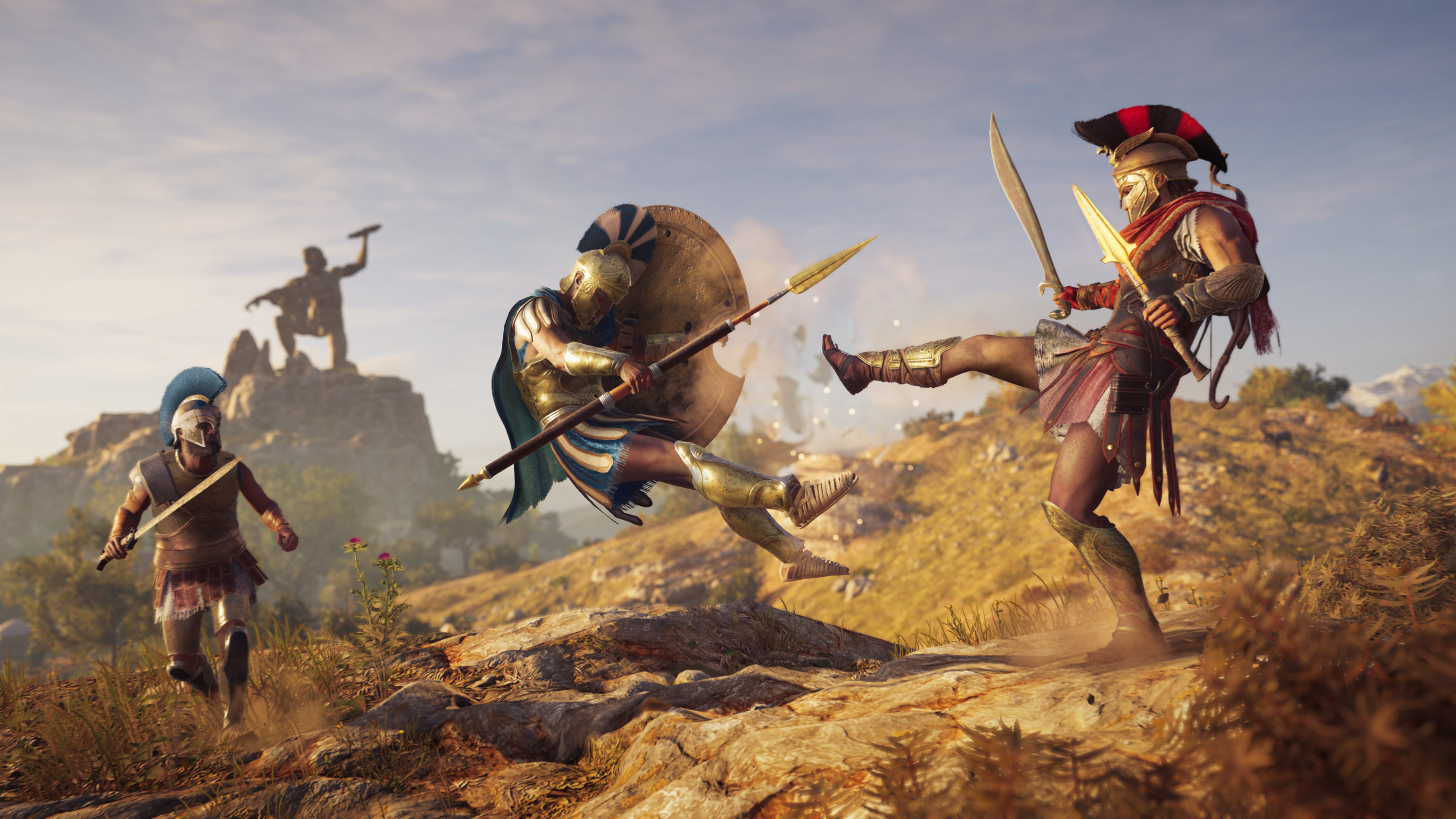 Assassin's Creed Odyssey (PS4, XBOX, PC): the game offers a variety of options for gamers who are hard of hearing, making combat much more accessible. Picture: Ubisoft / Can I Play That?