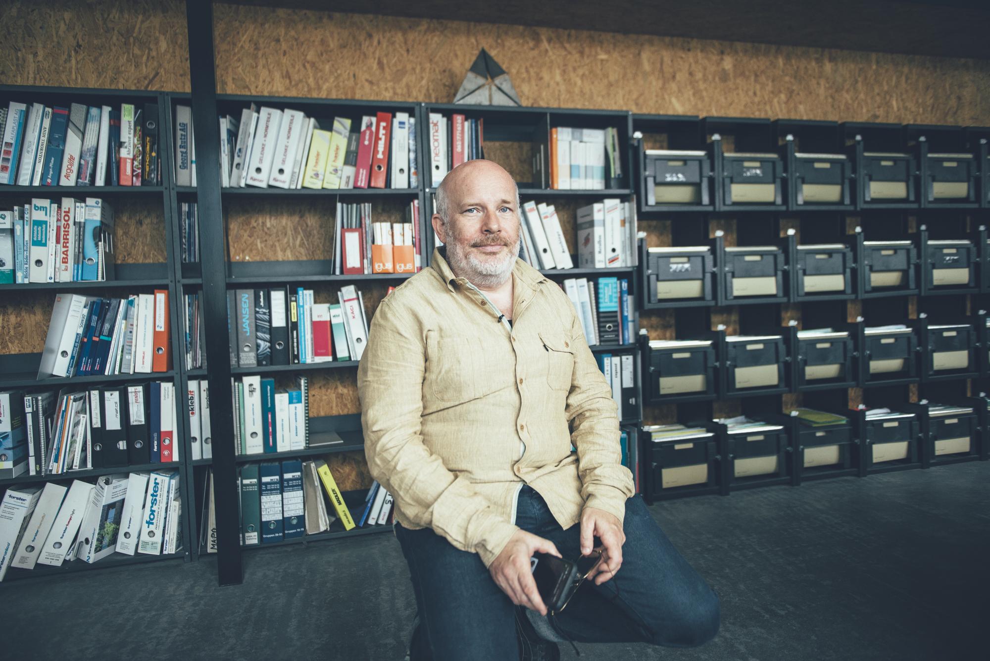 Samuel Fausch hat sich stets in digitalen Themen für KMU weitergebildet.