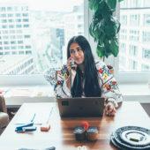 Maria: mère, entrepreneuse et communicatrice