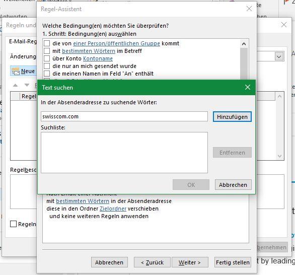 Microsoft Outlook Tipp: Mit Regeln Mails nach Absender filtern.
