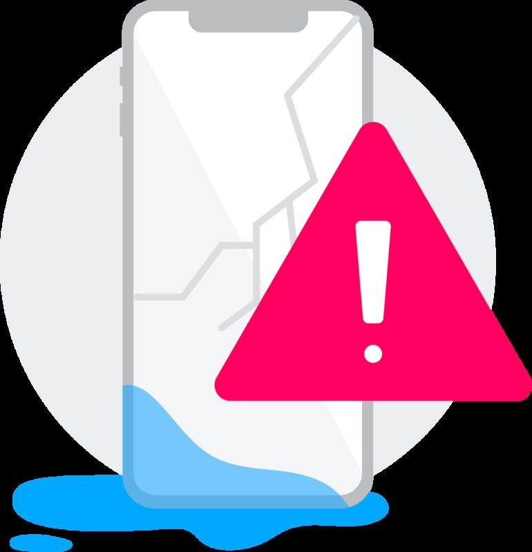 Schutz von Beginn weg Illustration - Lang lebe das Smartphone