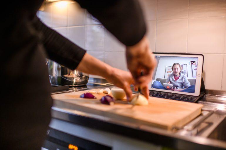 Présentation culinaire virtuelle