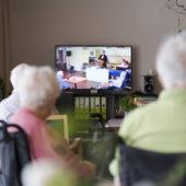 TV-Lösung im Altersheim