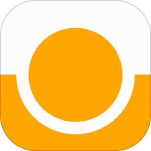 Icon Orange Zeitmanagement App